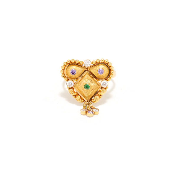 Balunda Heart Ring