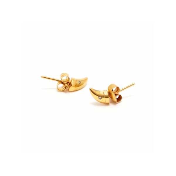 Jaipur Atelier Diamond Solo Thorn Earrings