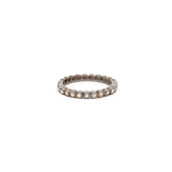 Brilliant Cut Petal Eternity Band