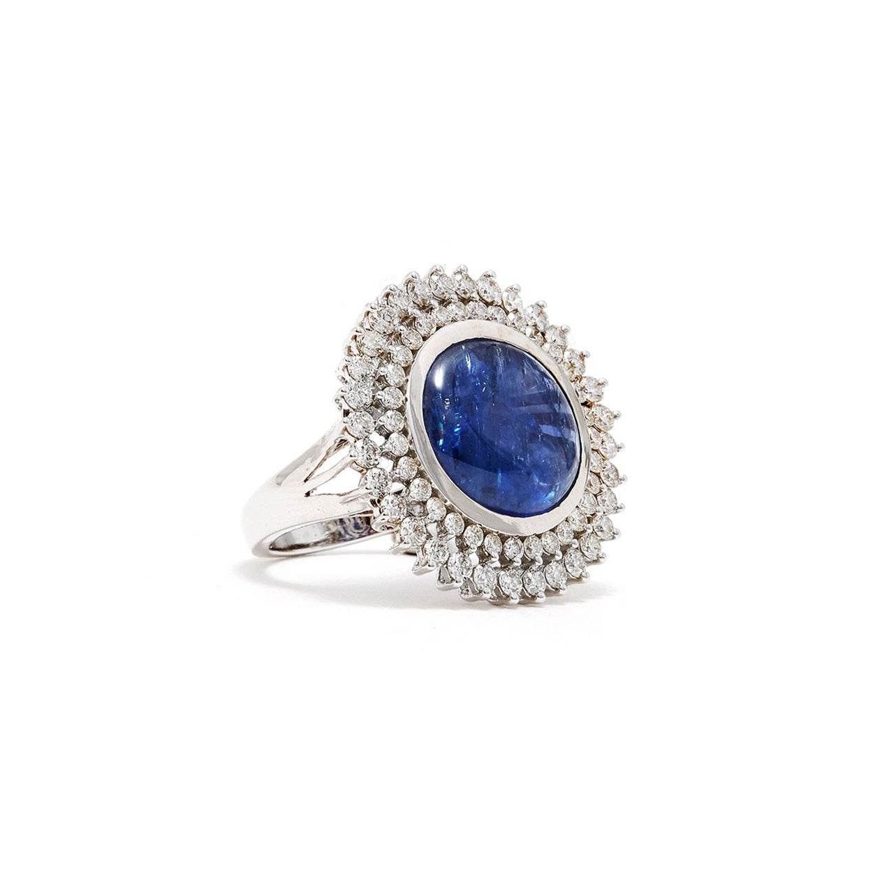 The Star Fall Sapphire & Diamond Dress Ring