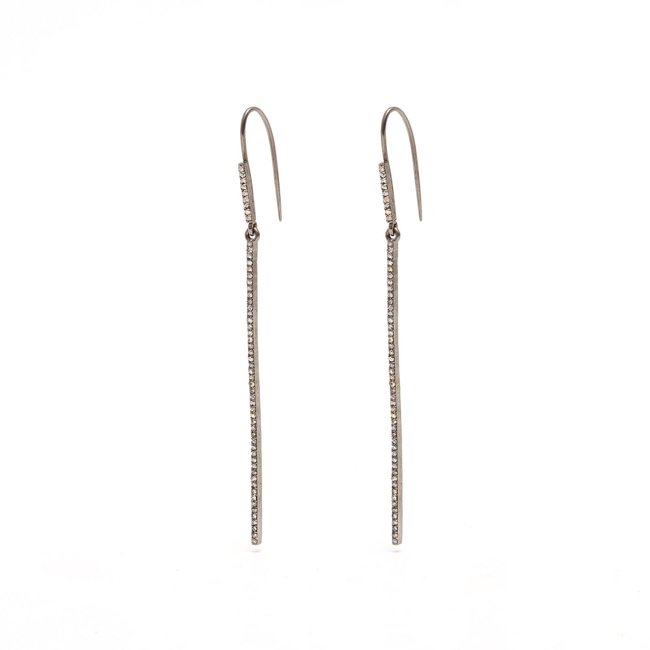 Jaipur Atelier Diamond Toothpick Earrings