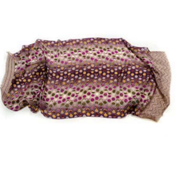 Cashmere & Bamboo Scarf 4 in Indian Silk Bag