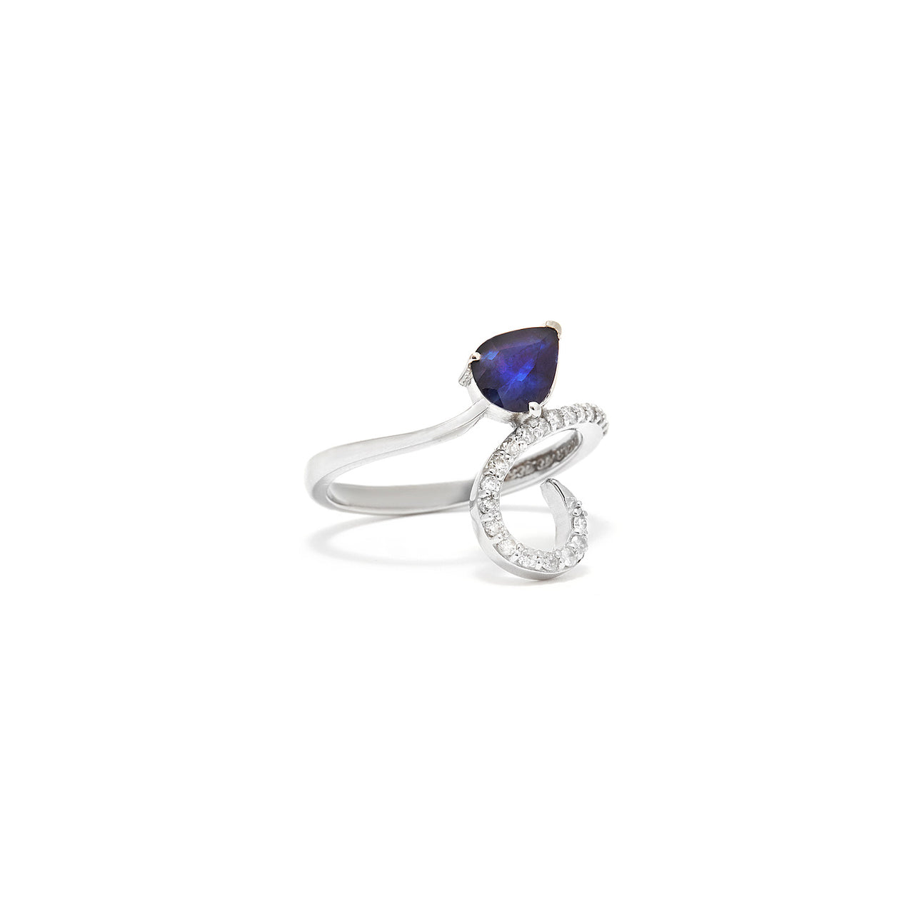 Tanzanite Diamond Ring-Ring-Jaipur Atelier