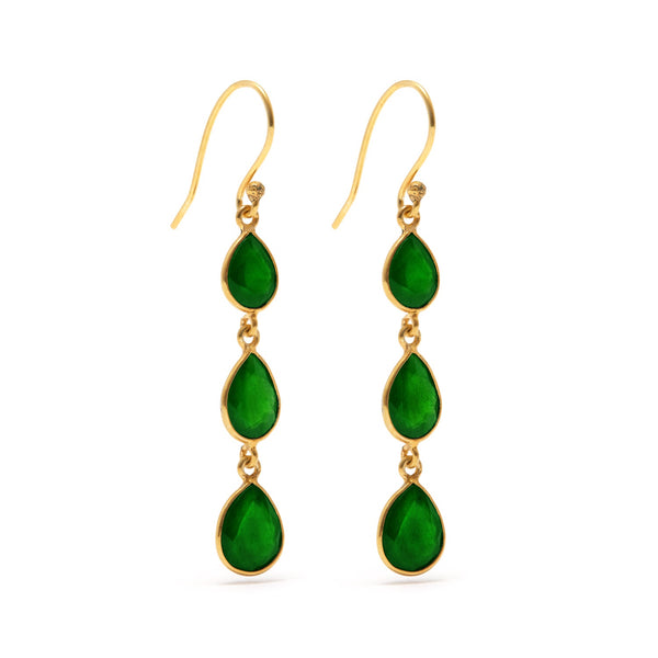 Emerald Envy  Earrings 3