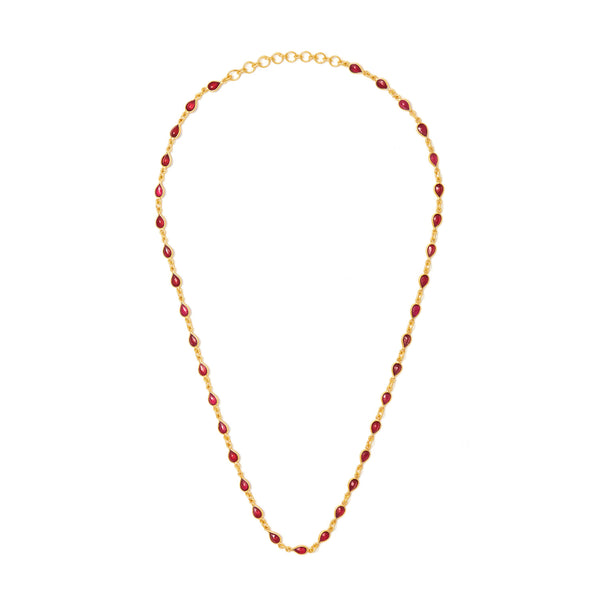 Jaipur Atelier Ruby Rush Chain
