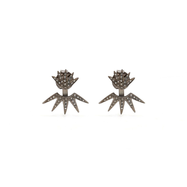 Jaipur Atelier Diamond Crown Earrings