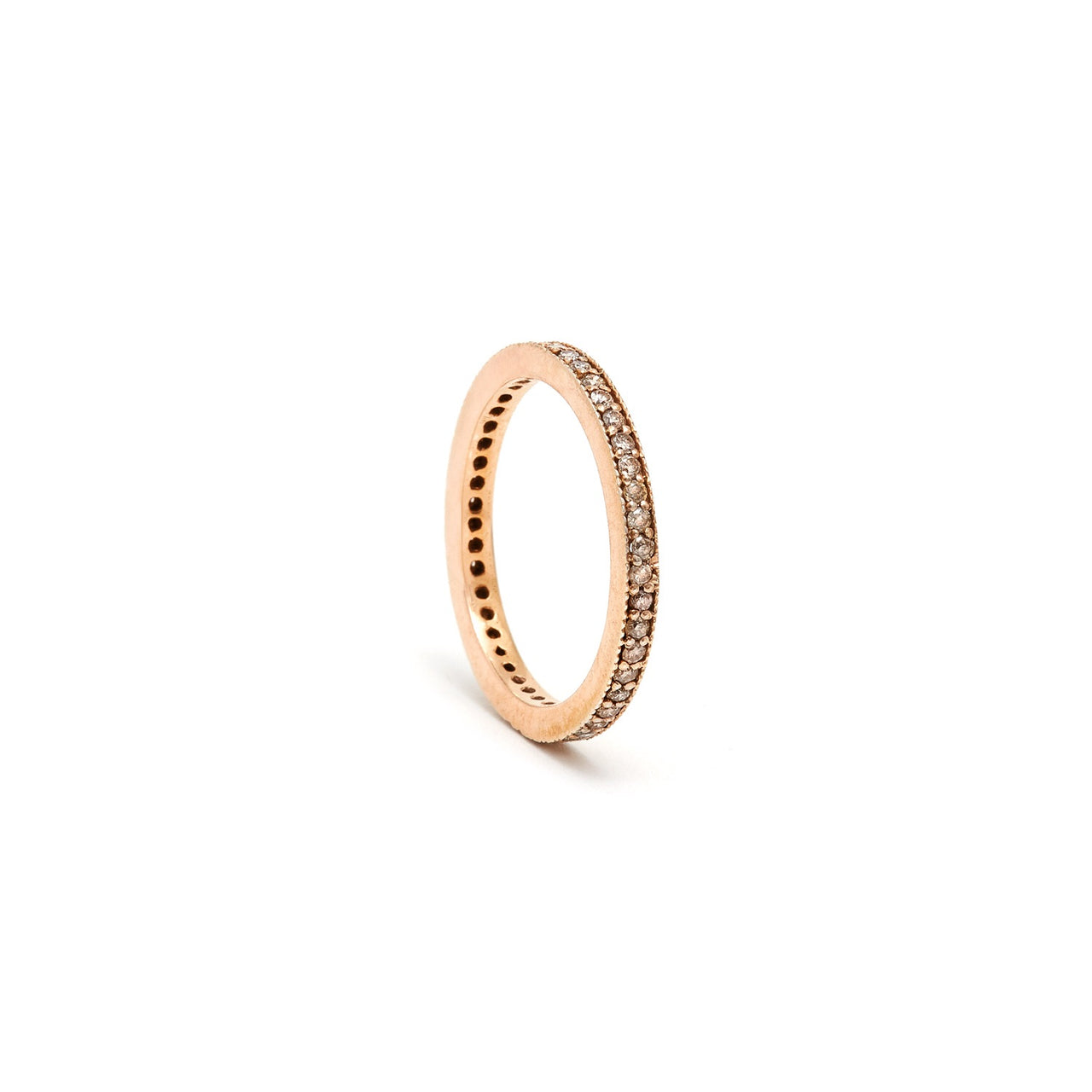Jaipur Atelier Rose Gold Eternity Band