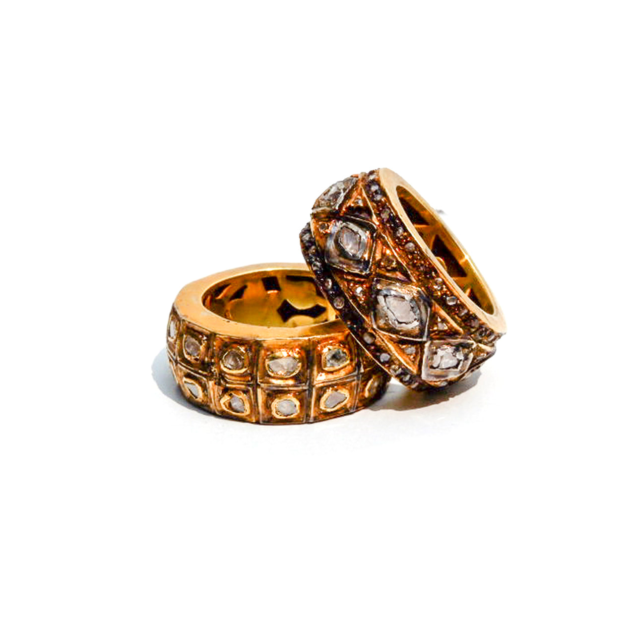 Rock N Roll Regal Doublet Ring