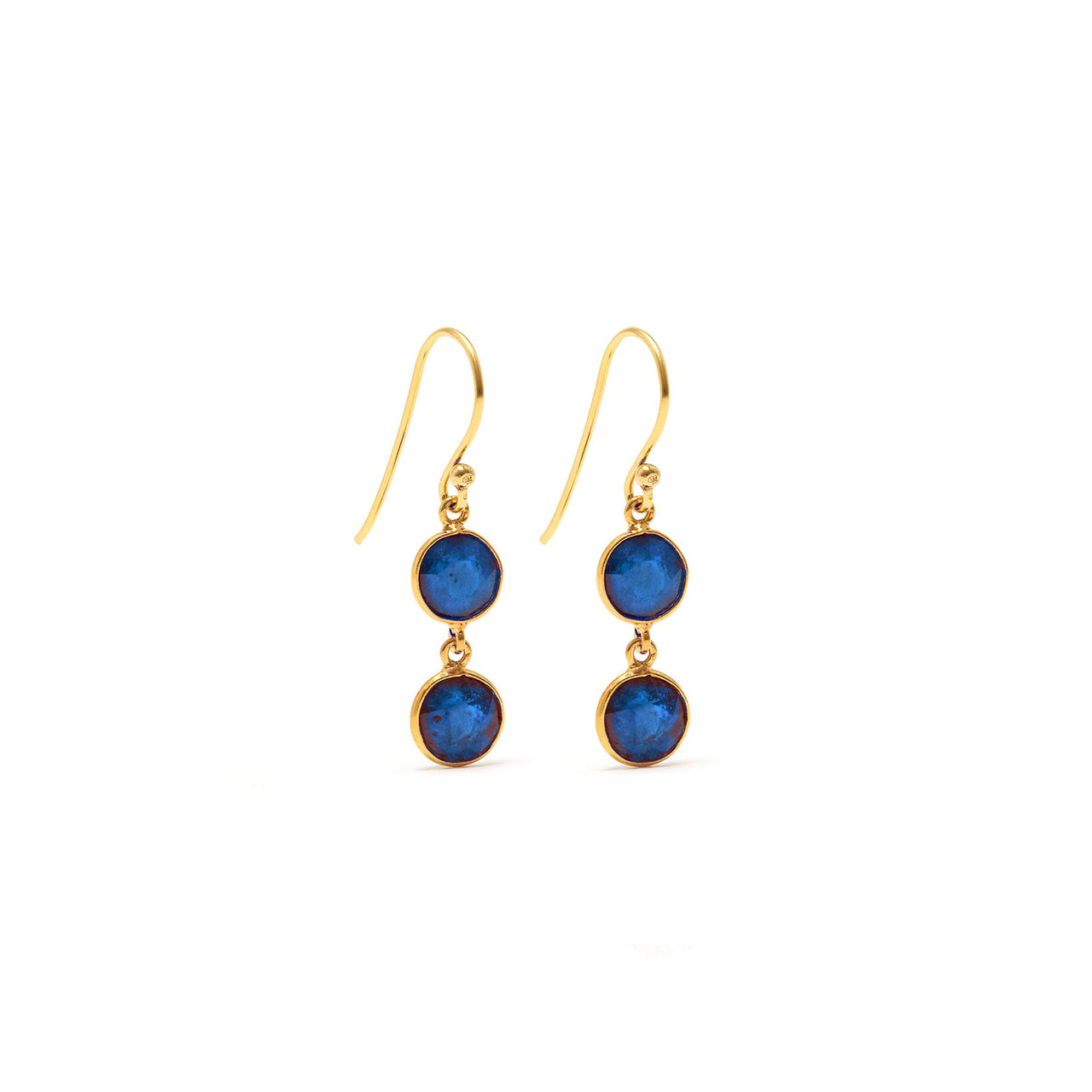 Sapphire Strike Two Earrings