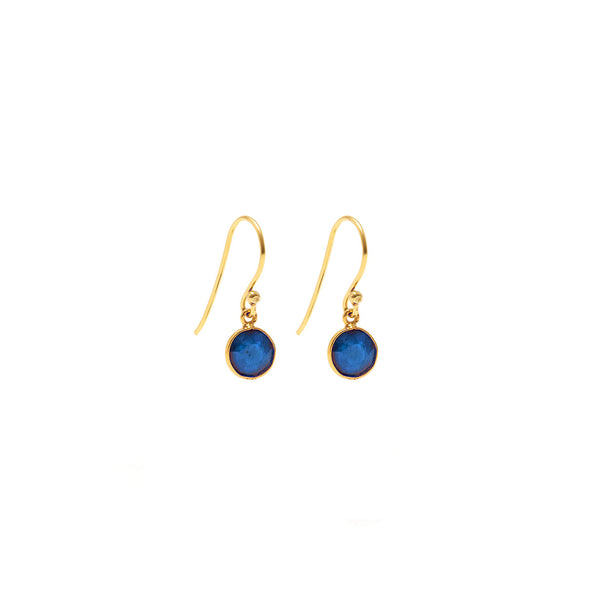 Sapphire Strike One Earrings