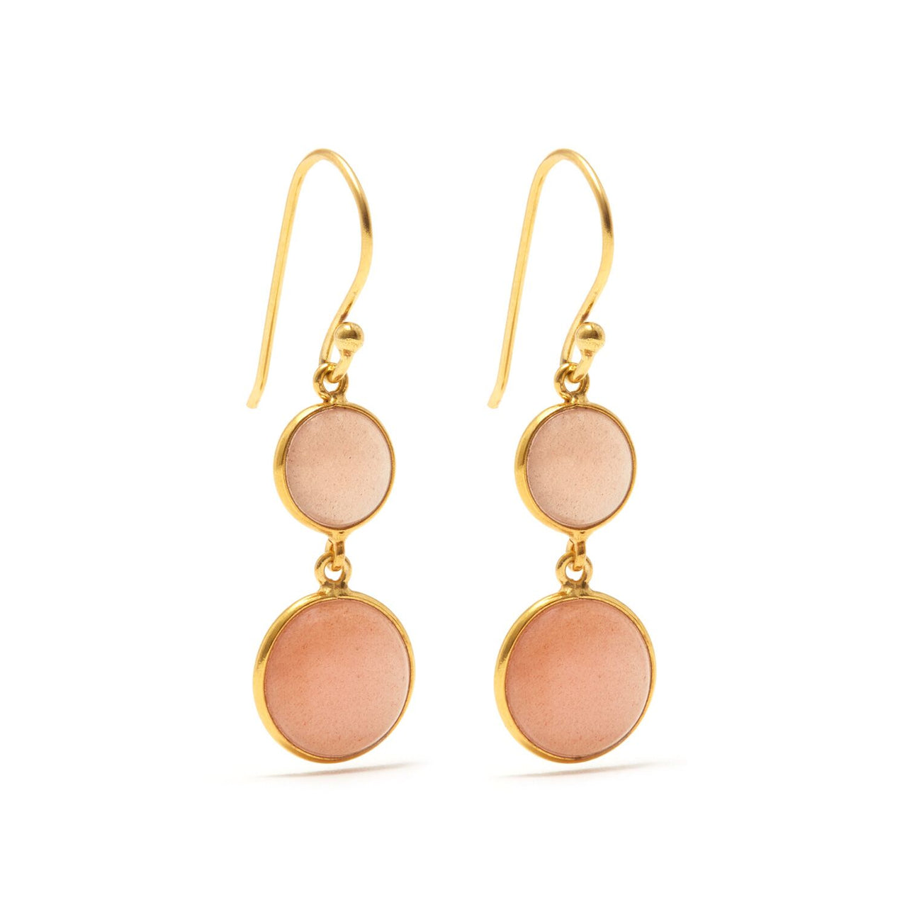 Jaipur Atelier Moon Blush 2 Earring
