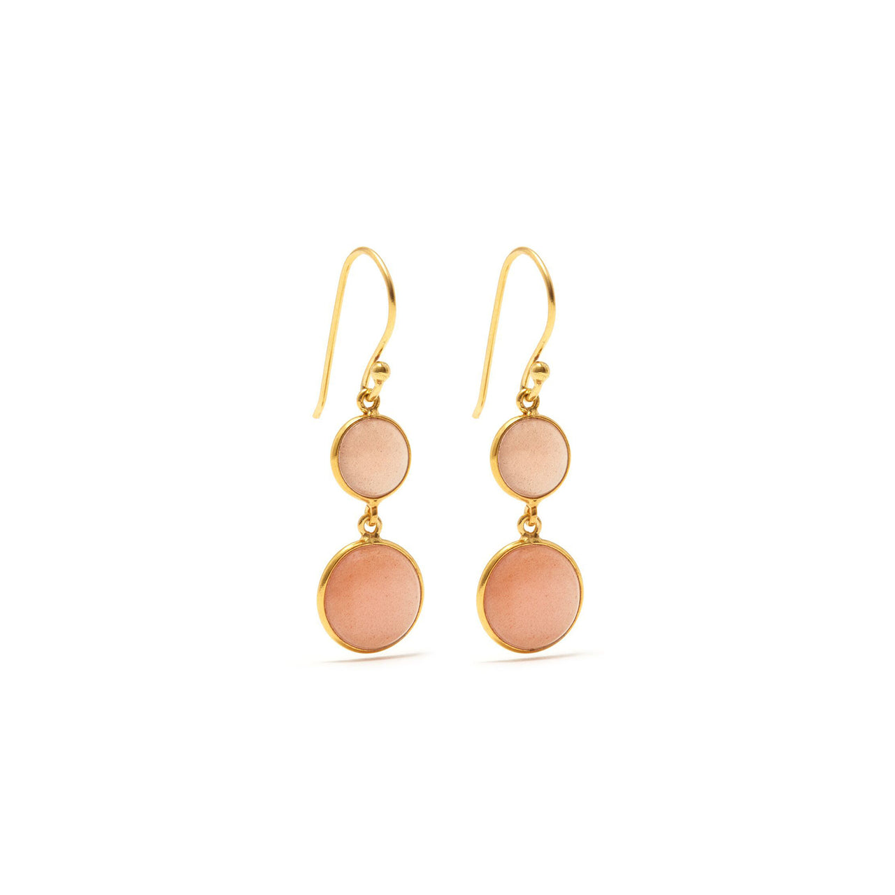 Moon Blush Two Earrings