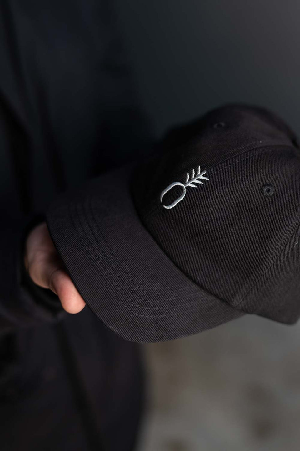 Cap Pineapple - Black