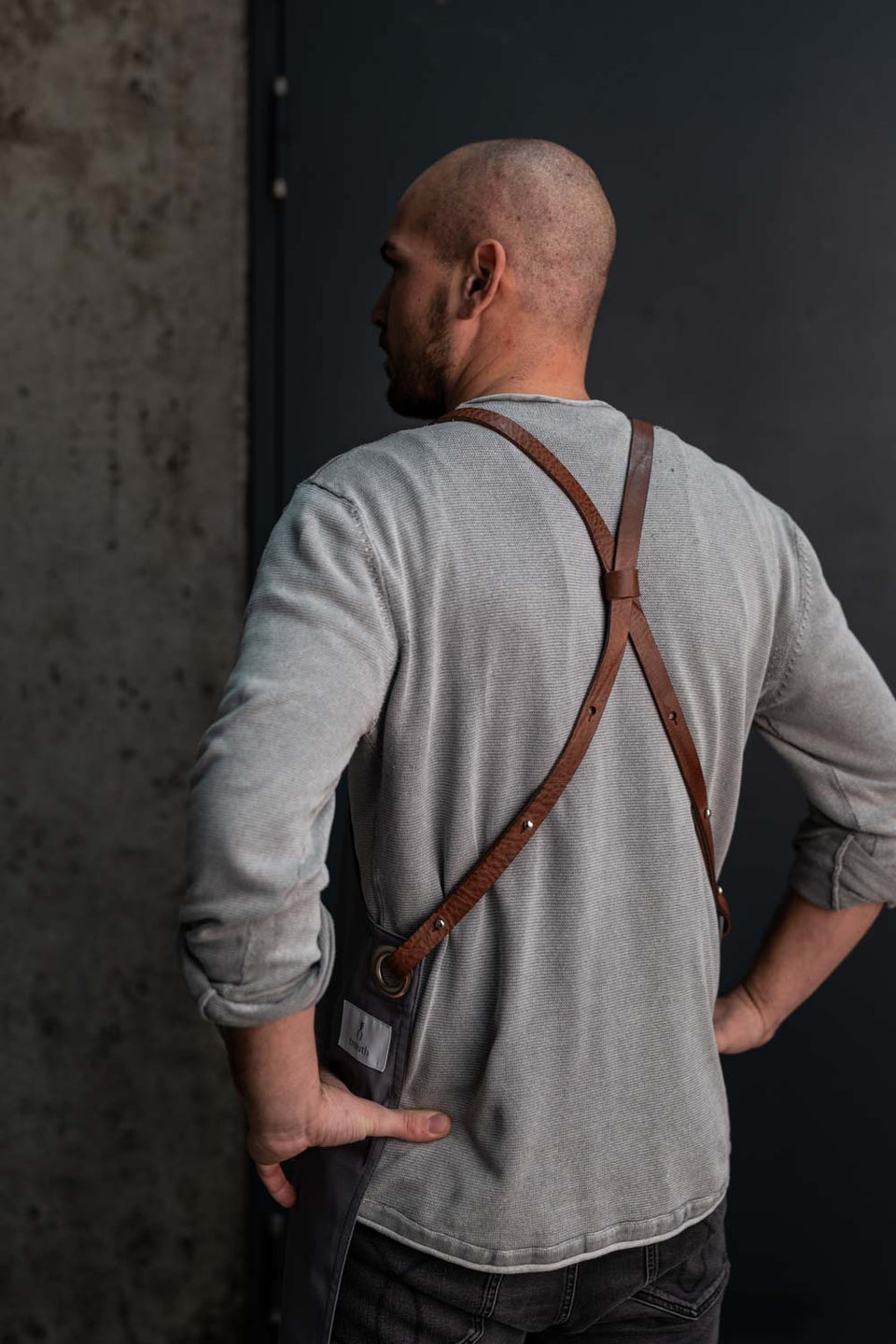 Apron trauth22  - Grey