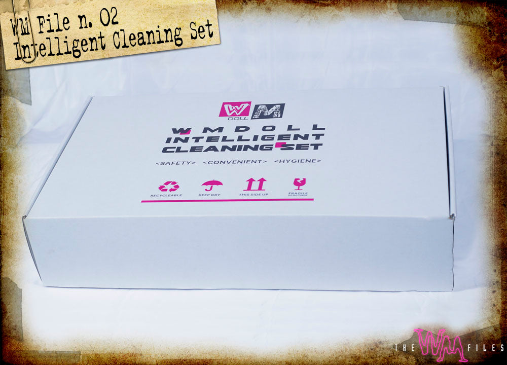 WM Doll's new cleaning kit box (outside)