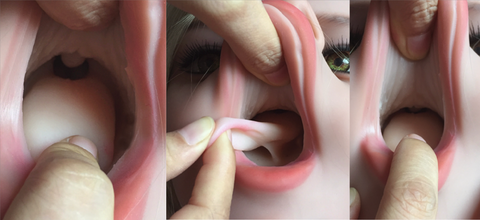Sex doll enhanced mouth images.