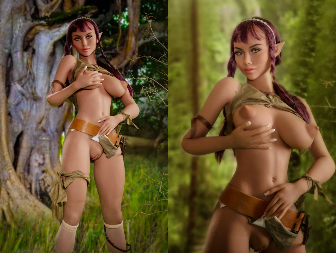 Bella Elf Sex Doll by YL Dolls