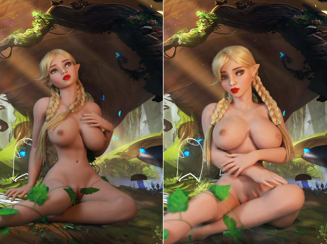 Elora Sex Doll Elf