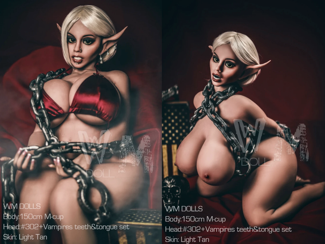 Elven sex doll by wm dolls
