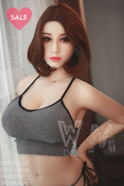 WM Dolls 161cm G - Amelia-Silicone Lovers Sex Dolls