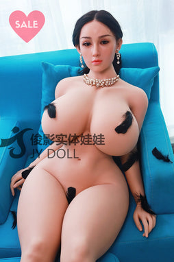 JY Dolls 159cm Big Breast + Silicone Head Laura