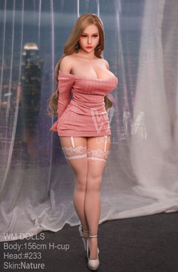 WM 156cm H cup Big Curvy Sex Doll | Dixie
