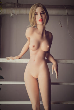 A super realistic human sex doll - Sophie, made from TPE, by WM-Dolls.