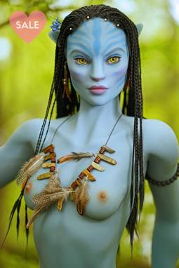 Avatar Sex Doll - SM Dolls 156cm A | Neytiri-Silicone Lovers Sex Dolls
