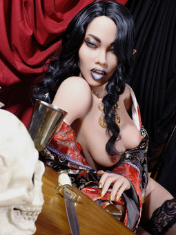 YL Doll 168cm A Cup Goth Delilah Vampire