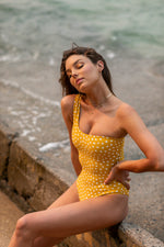Lionel hallie swimsuit - honeycomb