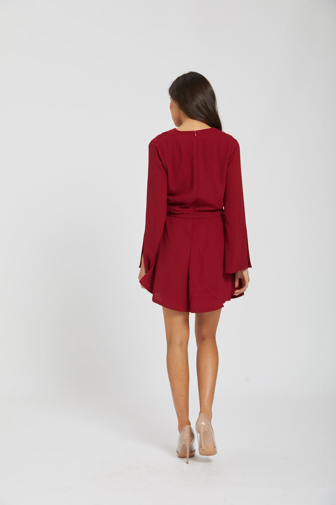 Scarlet playsuit