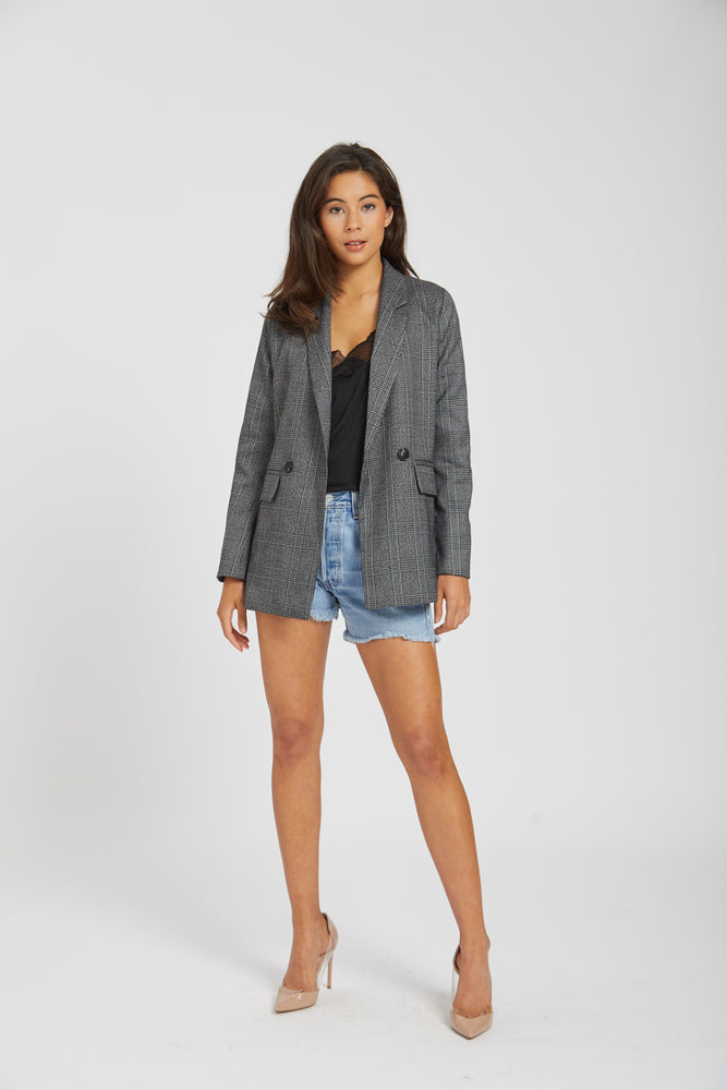Blazer #1 - dark grey