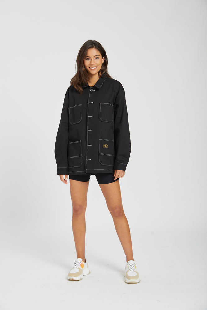Jacket low & slow - black