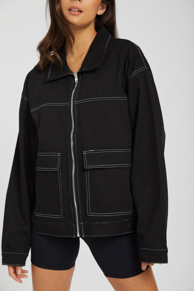 Jacket lab studio - black