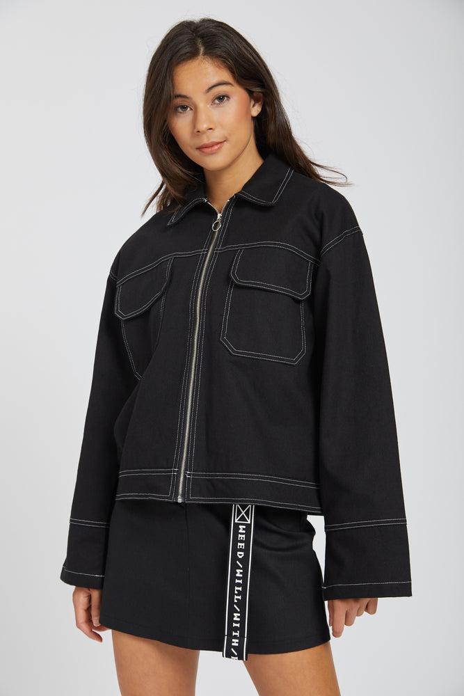 Jacket unique - black