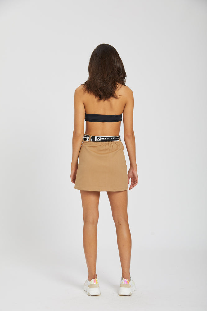 Skirt and belt combo - brown
