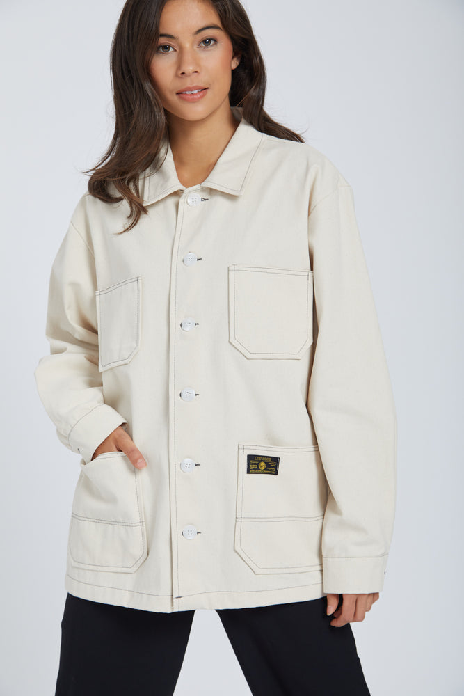 Jacket low & slow - white