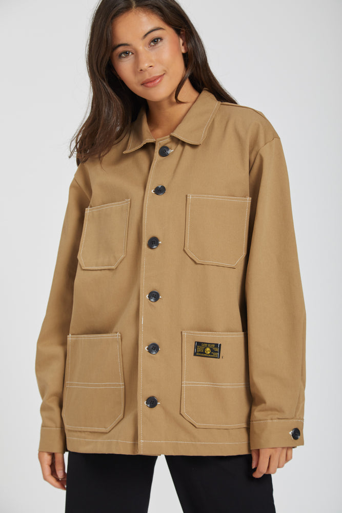 Jacket low & slow - brown