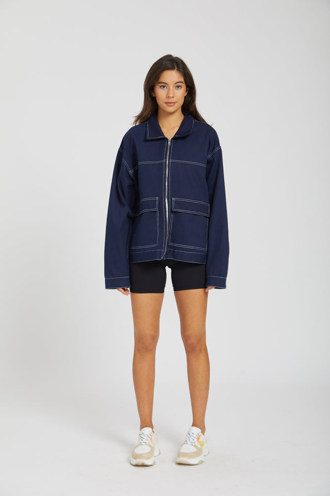 Jacket lab studio - navy
