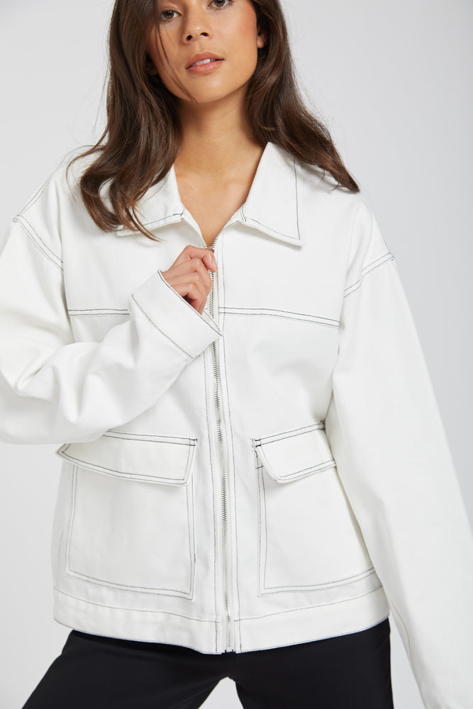 Jacket lab studio - white