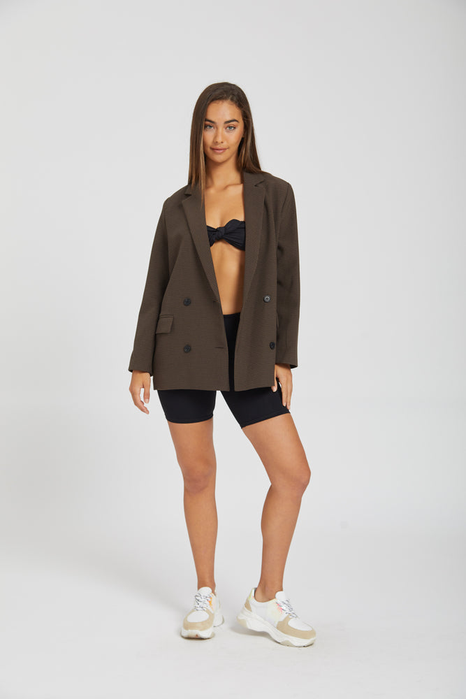 Blazer journal - dark brown