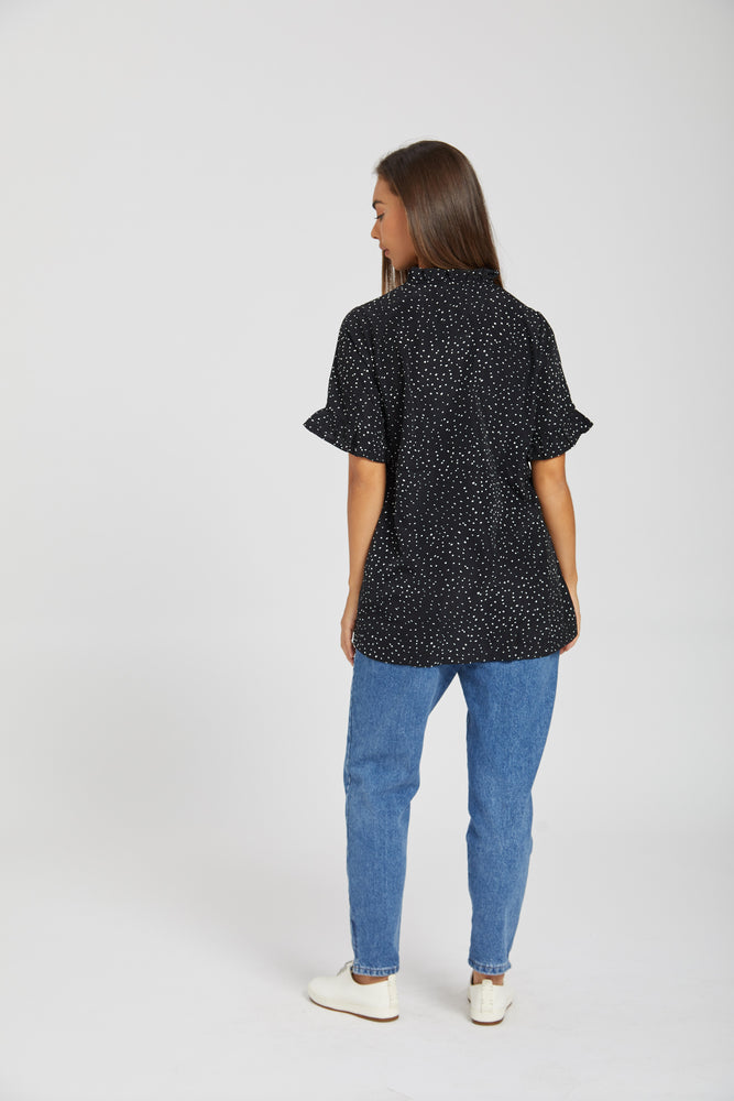 Scattered girlfriend blouse