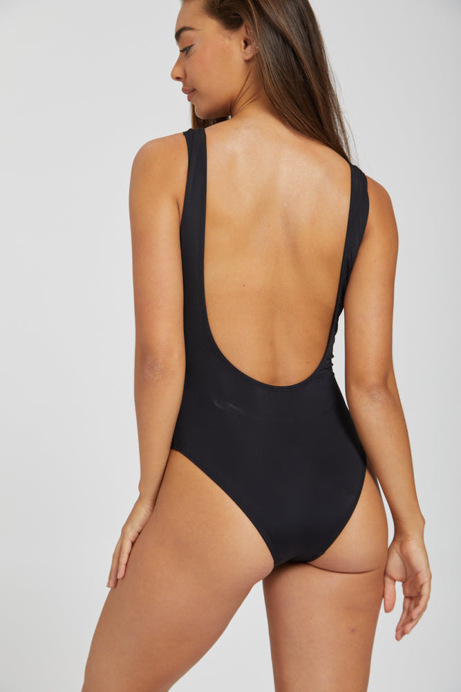 Lionel harper swimsuit - black