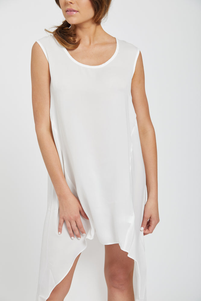 Tunic dress - white