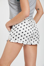 Spotty racer short