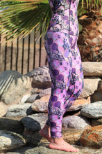 Load image into Gallery viewer, LIMITED EDITION Purple Prickly Pear Leggings