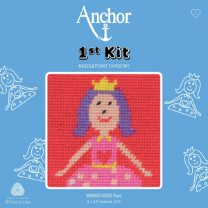 Ruby The Princess - Needlepoint Tapestry - Anchor 1st Kit