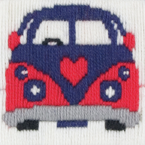 Victor - Camper Van  - Long Stitch - Anchor 1st Kit - Button Blue Crafts