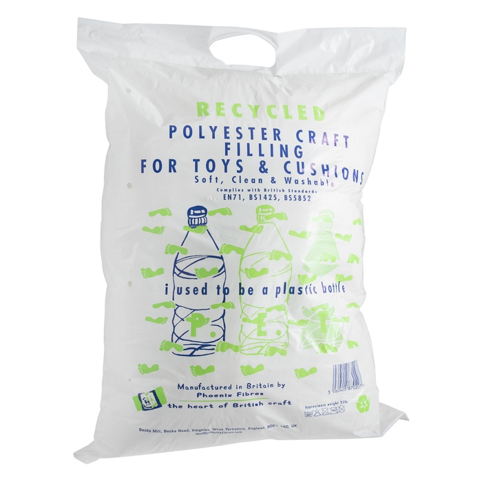 Recycled Toy, Bear & Cushion Filling - 250g Bag