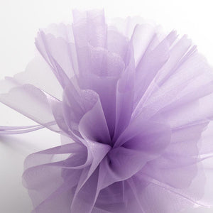 Lilac Organza Tulle Bomboniere Wedding Favour Nets - 50 Pack - Button Blue Crafts